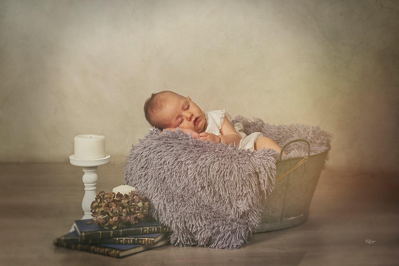 fotógrafo fotografía estudio reportaje sesión new born bebé recién nacido Lugo